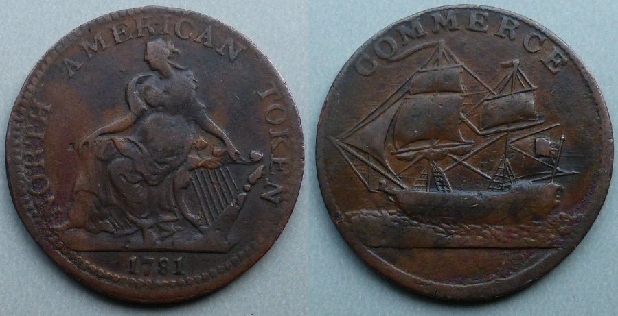 North American Token 1781 - Click Image to Close