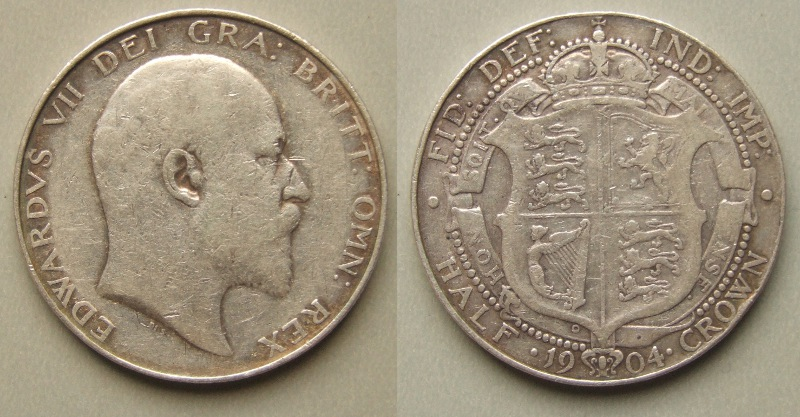Edward VII 1904 Halfcrown