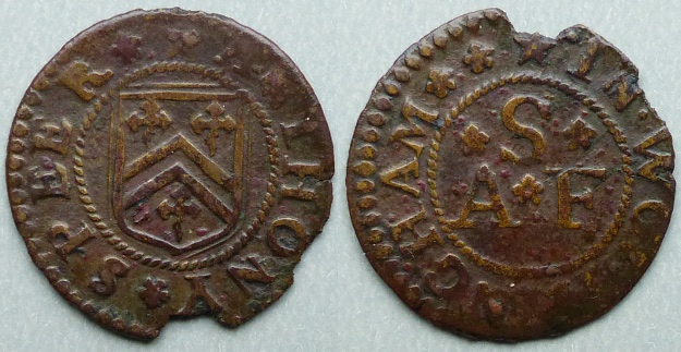 Wokingham, Anthony Speer farthing token
