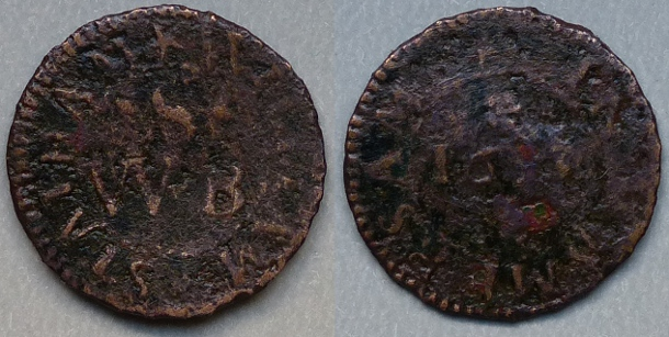 Amersham, William Statham 1653 farthing
