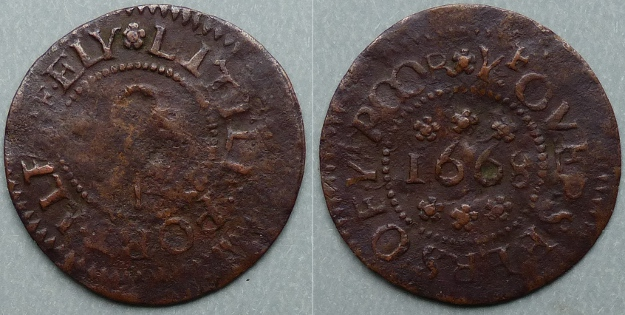 Littleport, corporation issue 1668 farthing