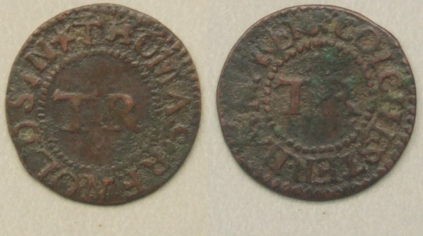 Colchester, Thomas Renolds farthing N 1215