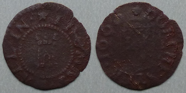 Dorchester, Thomas Hall 1666 farthing