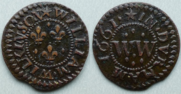 Durham, William Wilkinson 1661 farthing