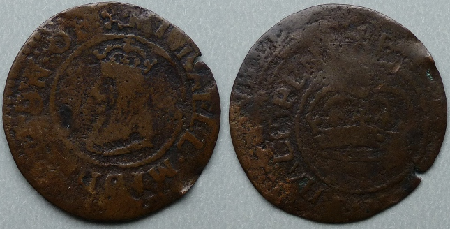 Darlington, Michaell Middleton halfpenny token