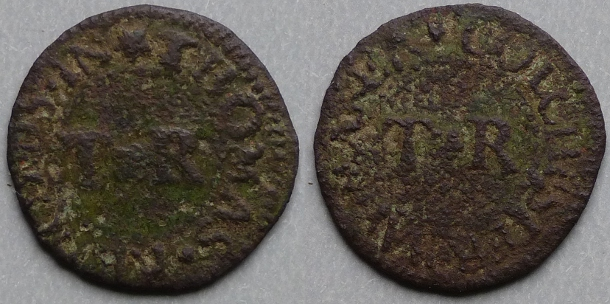 Colchester, Thomas Renolds farthing N 1210