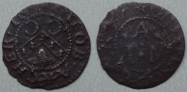 Chipping Ongar, Jacob Archer 1657 farthing