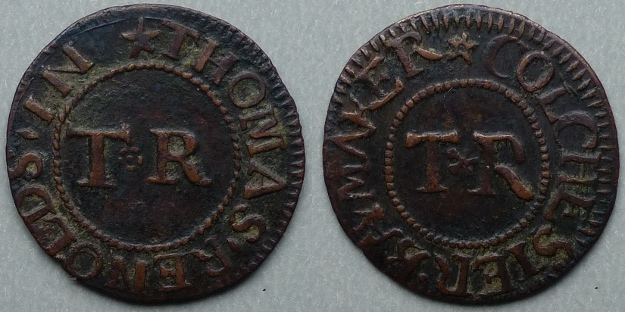 Colchester, Thomas Renolds farthing N 1213