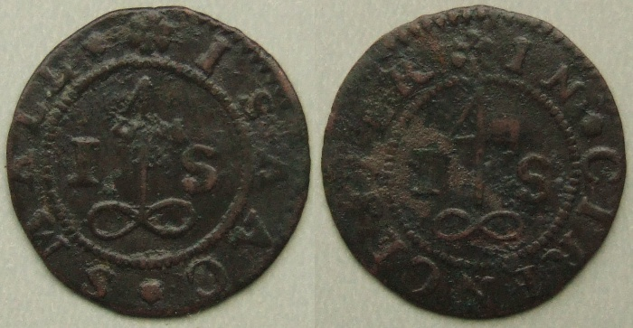 Cirencester, Isacc Small halfpenny