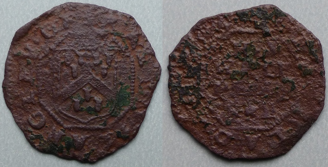 Lechlade, Ralph Langley 1669 halfpenny