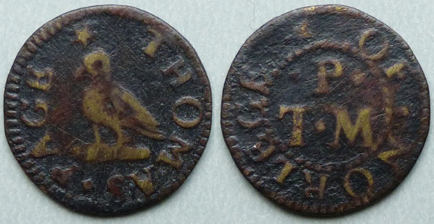 Northleach, Thomas Page farthing token