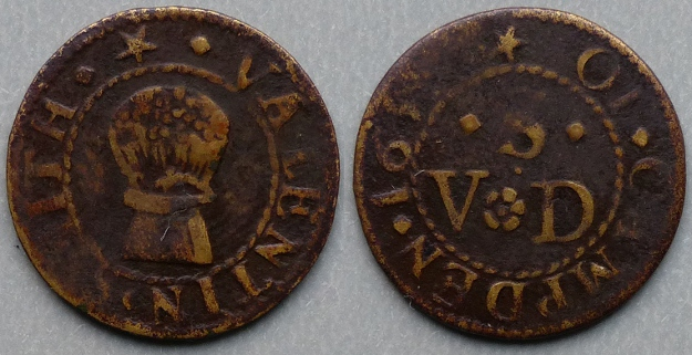 Chipping Campden, Valentin Smith 1651 farthing