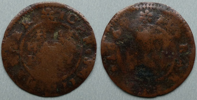 Berkely, John Smith 1669 halfpenny