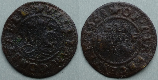Cirencester, William Constable 1668 halfpenny