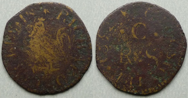 Gloucester, Richard Cockes 1652 farthing