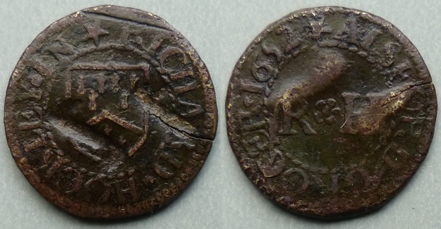 Alresford, Richard Hockey 1652 farthing