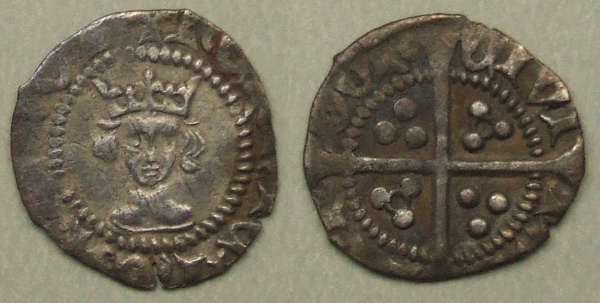 Henry VI annulet issue halfpenny