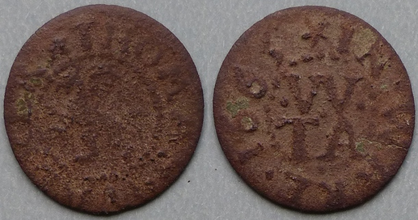 Ware, Thomas Walker 1665 farthing