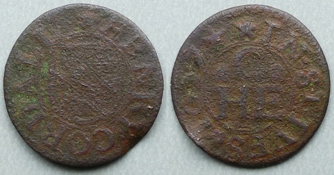 St. Ives, Henry Cordall 1657 farthing