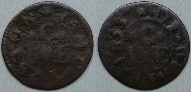 Deal, James Coston 1653 farthing