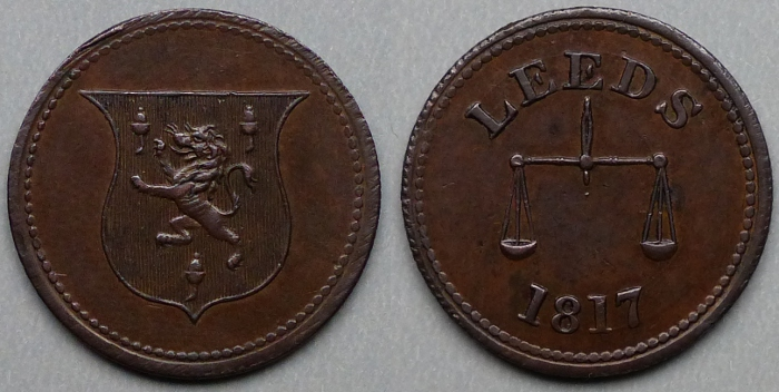 Leeds, Anonymous 1817 farthing