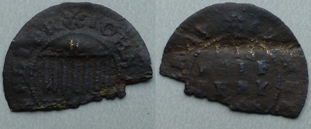 Melton Mowbray, John Brown 1668 halfpenny
