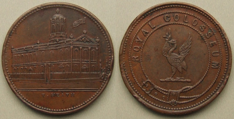 Liverpool Royal Colosseum T. Heath in copper