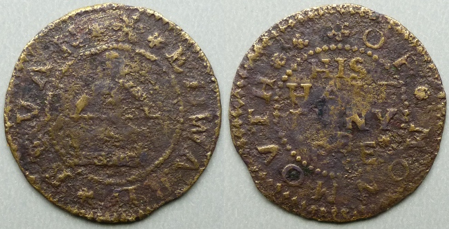 Monmouth, Edward Bevan halfpenny token