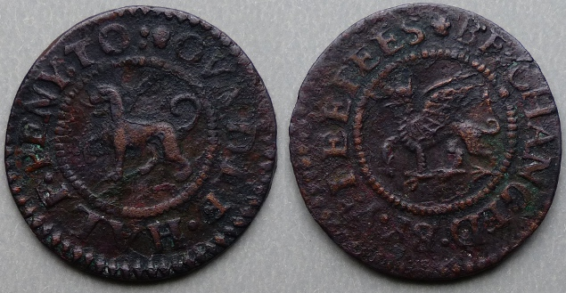 Oundle, town issue halfpenny token