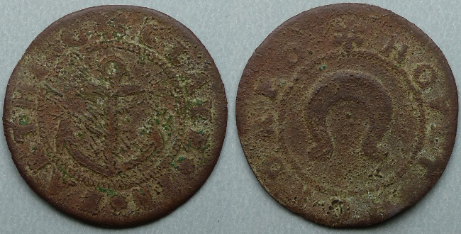 Cley-next-the-Sea, town issue farthing