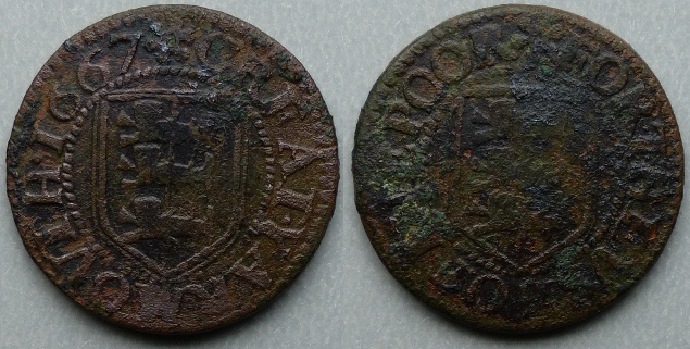 Great Yarmouth, borough issue 1667 farthing N3287