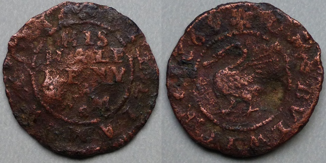 Bulwick, William Watts 1669 halfpenny