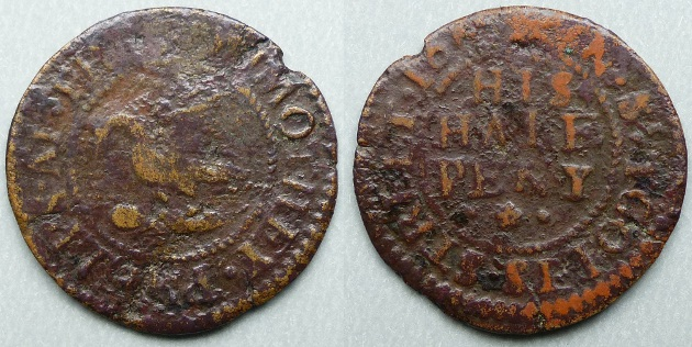 Tooley Street, Timothey Phelps 1665 halfpenny