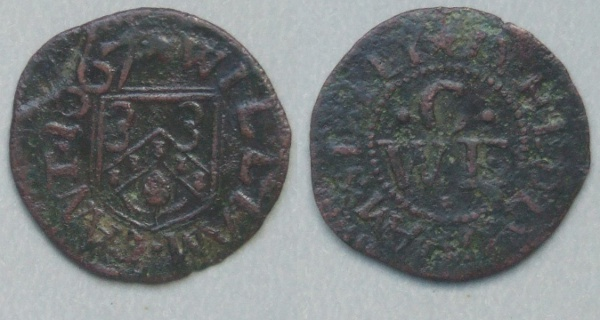 Sible Hedingham, William Cant 1667 farthing