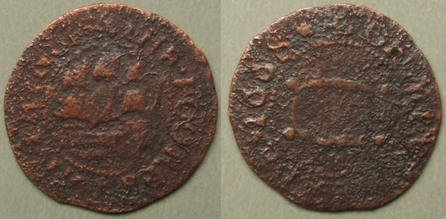 Minehead, town issue 1668 farthing