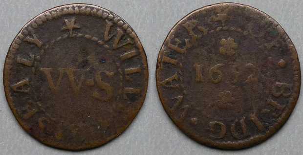 Bridgwater, William Sealy 1652 farthing