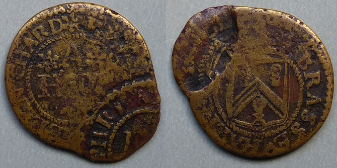 Chard, Humphry Able halfpenny