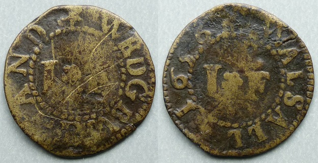 Wednesbury and Walsall, I F farthing