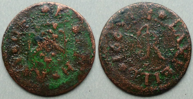 Laxfield, Joseph Ray 1665 farthing