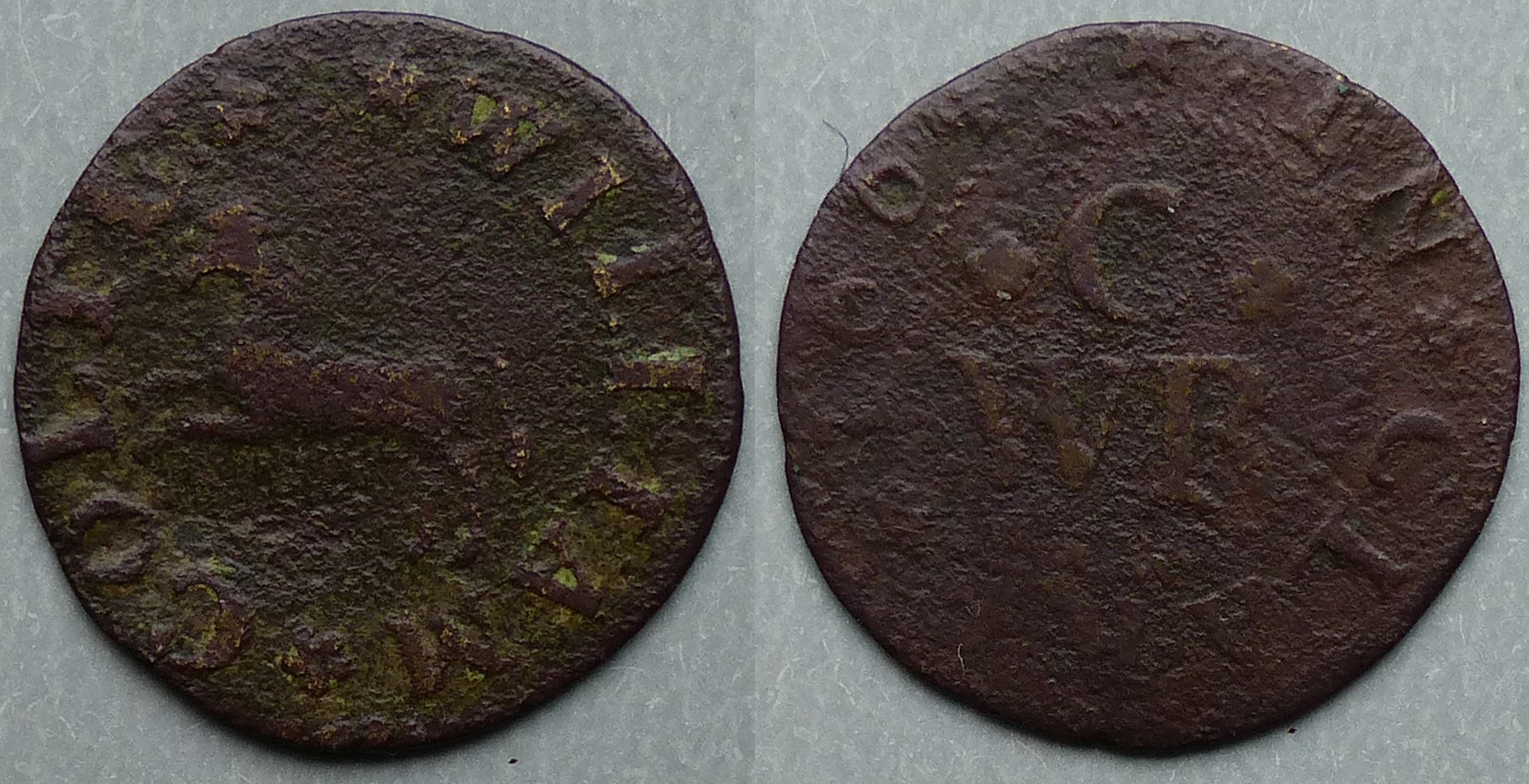 Clare, William Colte 1664 farthing