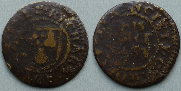 Worcester, Richard Adney halfpenny token