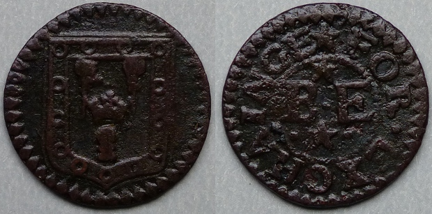 Evesham, town issue farthing, N 5668