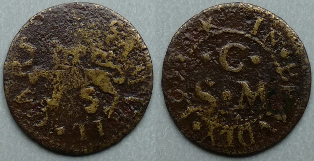 Bewdley, Samuell Cart 1653 farthing