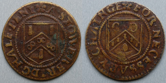 Stourbridge, town issue halfpenny token