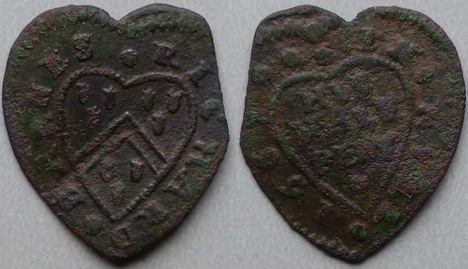Kingston-upon-Hull, Richard Barnes 1669 halfpenny