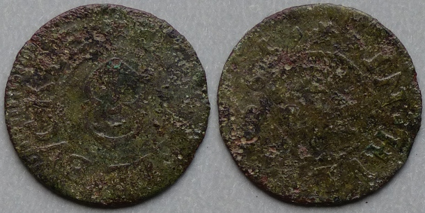 Kingston-upon-Hull, Lyonell Buckle 1665 farthing