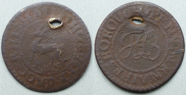 Knaresborough, Tho Bucke halfpenny token
