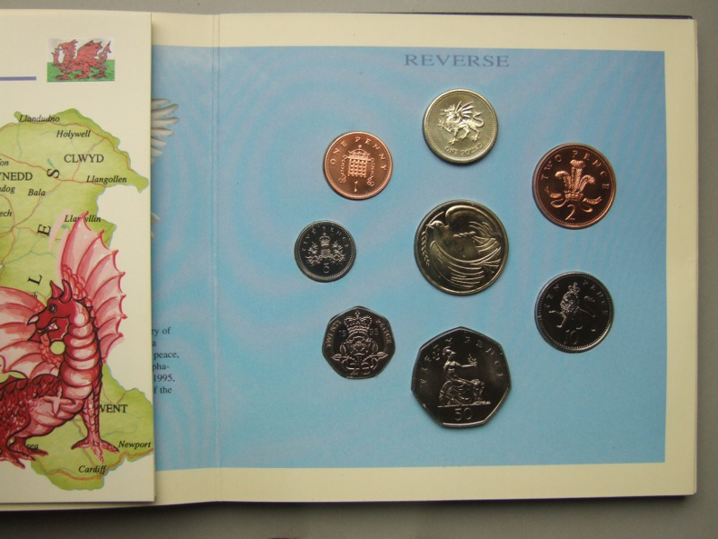 1995 Brilliant Uncirculated Coin Collection