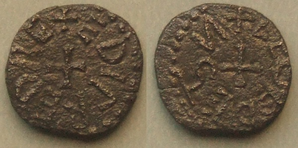 Anglo-Saxon Kings of Northumbria styca AD 841-4