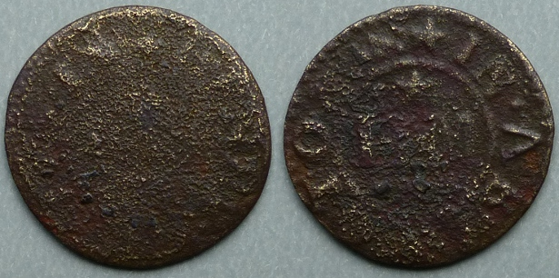 Abingdon, Henry Meales 1657 farthing (without BAKER)